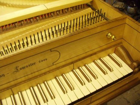 Single Manual English Harpsichord after William Smith